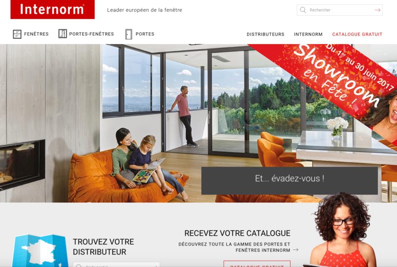 Internorm.fr – Leader européen de la fenêtre