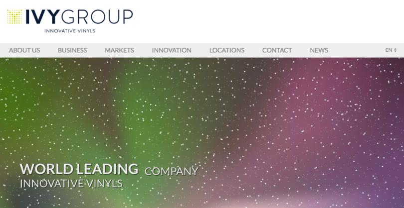 IVY Group, un acteur majeur de l'innovation vinylique