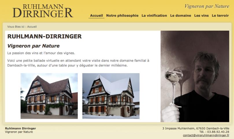 Vins d'Alsace, Ruhlmann-Dirringer
