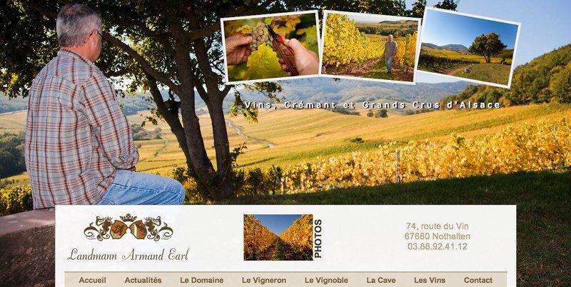 Vins d'Alsace Armand Landmann, vigneron à Nothalten