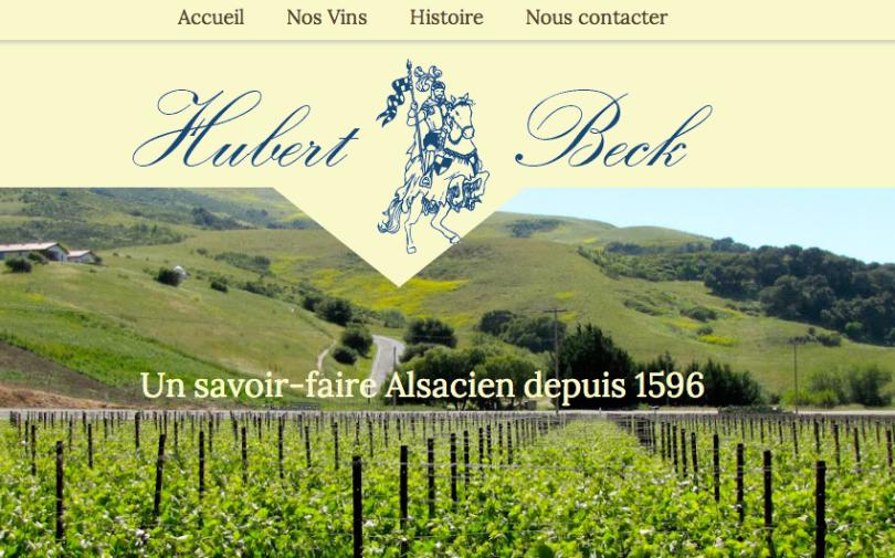 Vins d'Alsace Hubert Beck, vigneron à Dambach-la-Ville