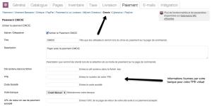 WooCommerce CMCIC - Côté administration