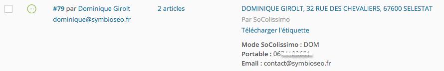 WooCommerce - Coliposte Web Service d'Etiquetage